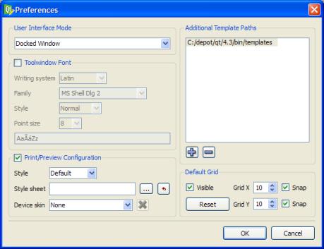 Qt 4 4: Qt Designer's Widget Editing Mode