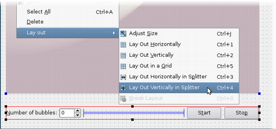 Qt 4 7: Using Layouts in Qt Designer