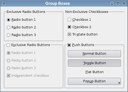 how to add radio button to groupbox