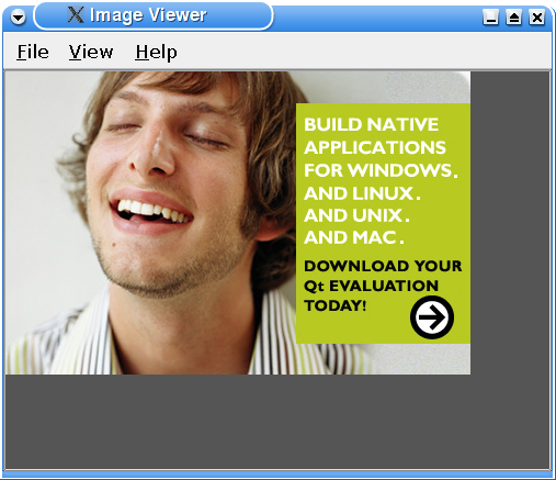 Screenshot of the Image Viewer example