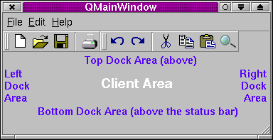 Q3DockWindows in a Q3DockArea