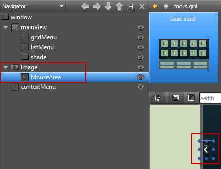 Qt Creator : Using Qt Quick Designer