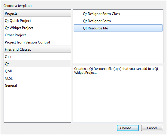 Qt Creator : Creating a Qt Widget Based Application