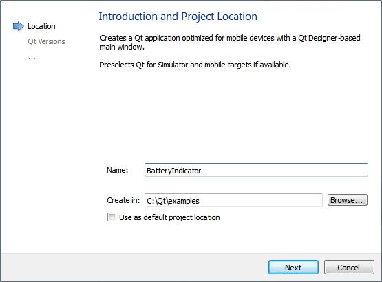 Qt Creator : Creating a Qt Widget Based Mobile Application